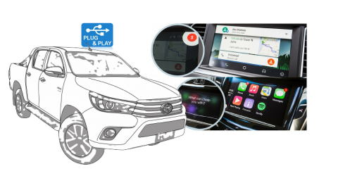 Add Apple CarPlay & Android Auto To Your New Hilux