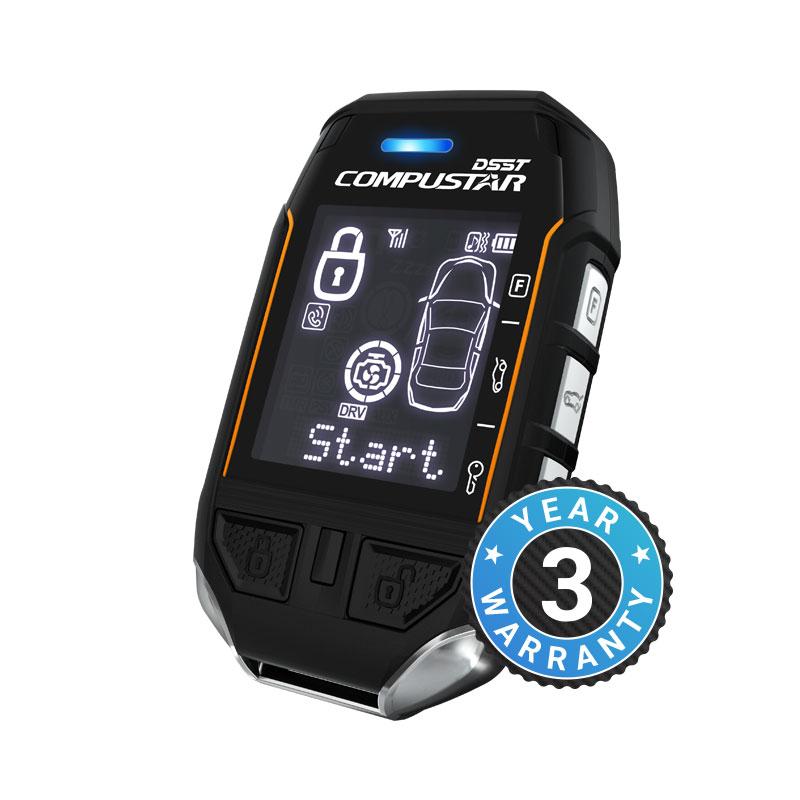 Compustar Pro T12 Remote Kit - 2 Way Lcd