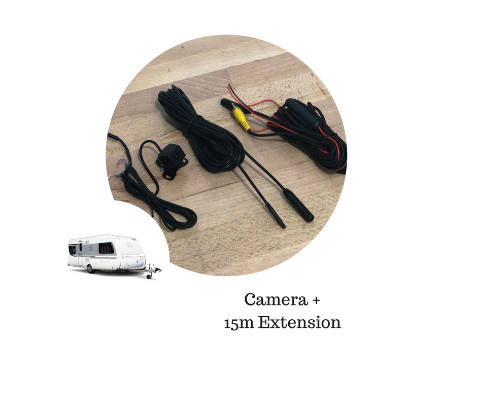 SoundSkins Reverse Camera Kit for Caravan & Trailer - 15m Cable