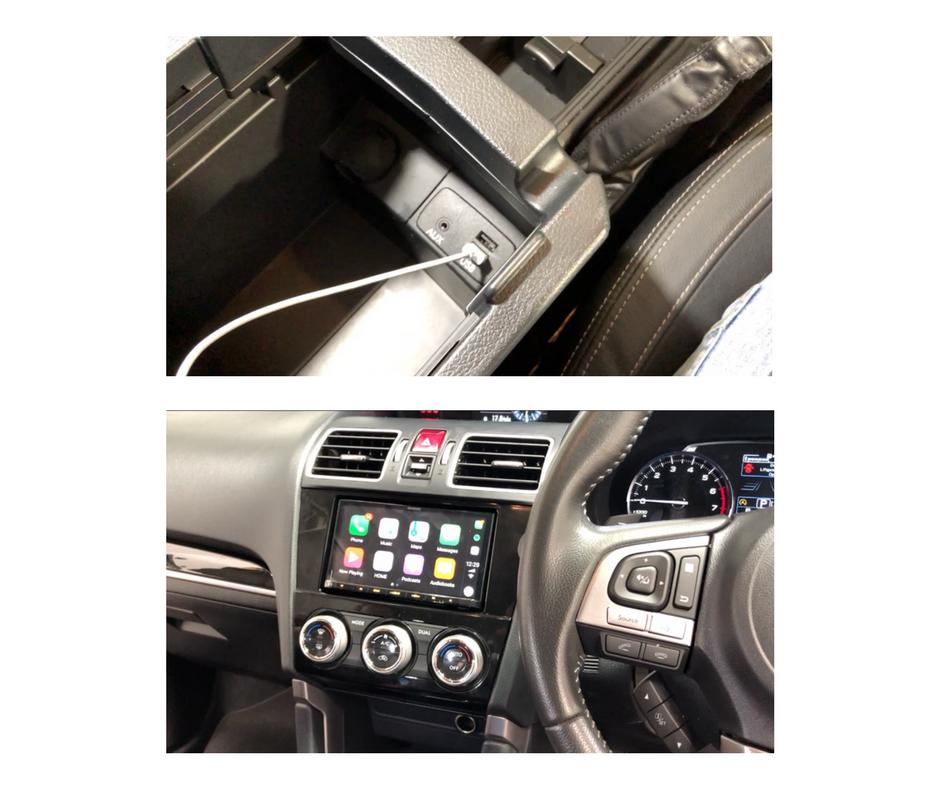 Dual USB Aux Adapter for Subaru