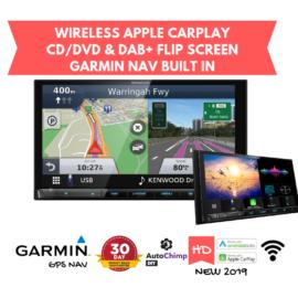 Kenwood DNX9190DABS Navigation Stereo   Garmin GPS. CD/DVD & Wireless Apple CarPlay Android Auto