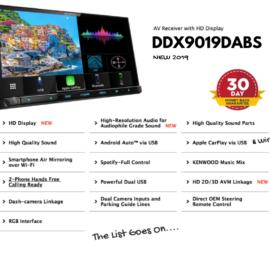 Kenwood DDX9019DABS forToyota HiluxStereo Upgrade | 2014 to 2015