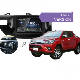 Kenwood DDX9018DABS for Toyota Hilux 2016 to 2018