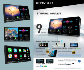 Kenwood DNX9190DABS Navigation Stereo | Garmin GPS. CD/DVD & Wireless Apple CarPlay Android Auto