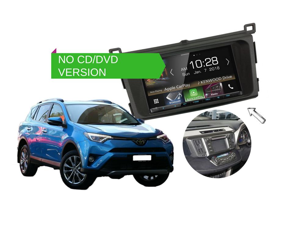 Kenwood Dmx8018s For Toyota Rav4 2013 To 2018 Stereo Upgrade Ebay