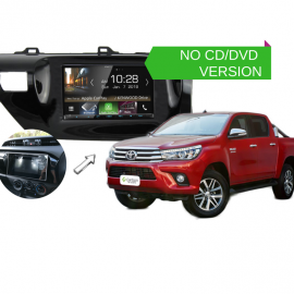 Kenwood DMX8018S for Toyota Hilux 2016 to 2018