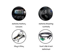 Kenwood DMX8019S for Subaru Levorg Stereo Upgrade | 2016 to 2018