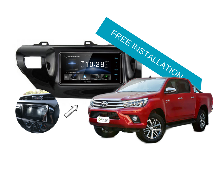 Can you add Apple CarPlay and Android Auto for Toyota Hilux