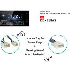 Kenwood DDX918WS Plugs