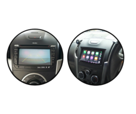 Kenwood DMX8019S for Isuzu Dmax Stereo Upgrade | 2012 to 2018 Screen Models
