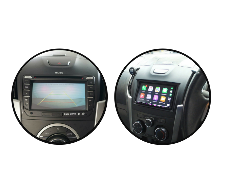 Kenwood DMX8020S for Isuzu Dmax Stereo Upgrade | 2012 to 2018 Screen Models
