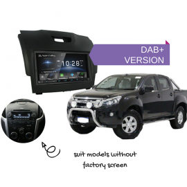 Kenwood DDX9018DABS for Isuzu Dmax with Standard Radio