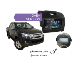 Kenwood DDX9018DABS for Isuzu Dmax with Factory Screen - 2012 to 2018 | Stereo Upgrade