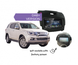 Kenwood DDX9018DABS for Isuzu MUX with Factory Screen - 2012 to 2018 | Stereo Upgrade