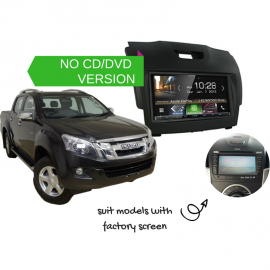 Kenwood DMX8018S for Isuzu Dmax with Factory Screen - 2012 to 2018 | Stereo Upgrade