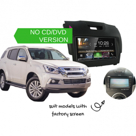 Kenwood DMX8018S for Isuzu MUX with Factory Screen - 2012 to 2018 | Stereo Upgrade