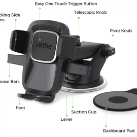 iOttie Easy One Touch 4 Dash & Windshield Mount HLCRIO125