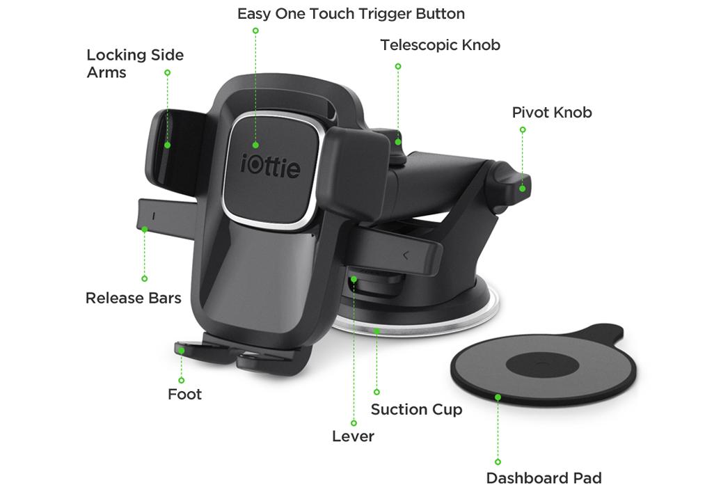 Iottie Easy One Touch  Car Mount Buy Online