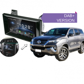 Kenwood DDX9018DABS forToyota Fortuner2015 to 2018 | Stereo Upgrade