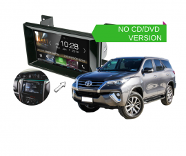 Kenwood DMX8018S forToyota Fortuner 2015 to 2018   Stereo Upgrade