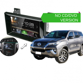 Kenwood DMX8018S forToyota Fortuner 2015 to 2018 | Stereo Upgrade