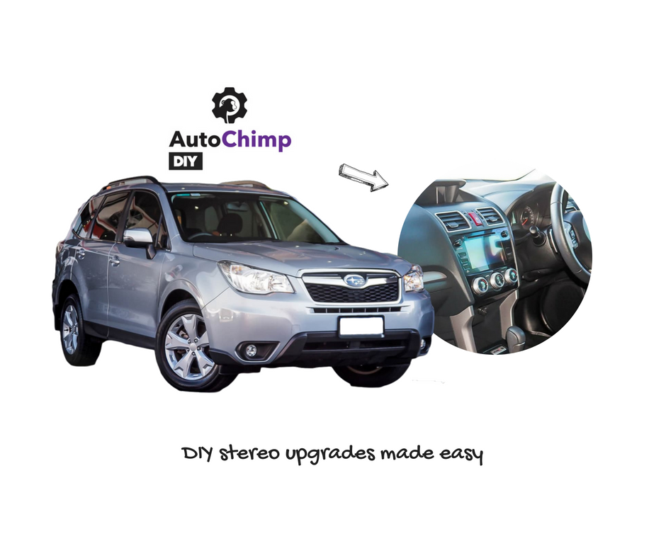 AutoChimp Stereo Install Kit for Subaru Forester SJ 2015 to 2020 | AC-FORESTER-KIT