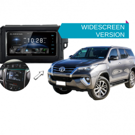 Kenwood DDX918WS forToyota Fortuner2015 to 2018 | Stereo Upgrade