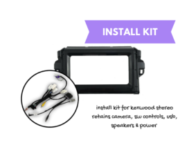 AutoChimp Kenwood Stereo Install Kit for Toyota Fortuner Widescreen | 2015 to 2018