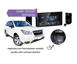 Kenwood DDX9018DABS for Subaru Forester SJ 2013 to 2014 | Stereo Upgrade