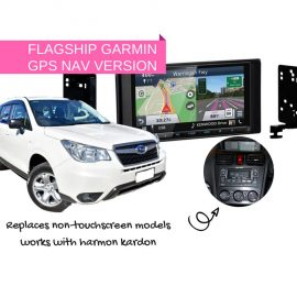Kenwood DNX9180DABS for Subaru Forester SJ 2013 to 2014 | Stereo Upgrade