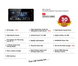 Kenwood DDX918WS forToyota Corolla 2012 to 2016 | Stereo Upgrade