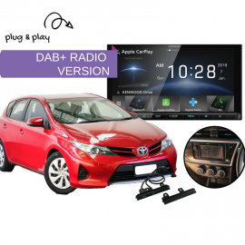 Kenwood DDX9018DABS for Toyota Corolla 2012 to 2016 | Stereo Upgrade