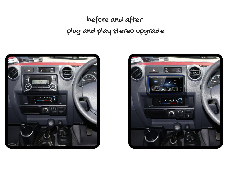 Kenwood DDX920WDABS for Toyota Landcruiser Stereo Upgrade