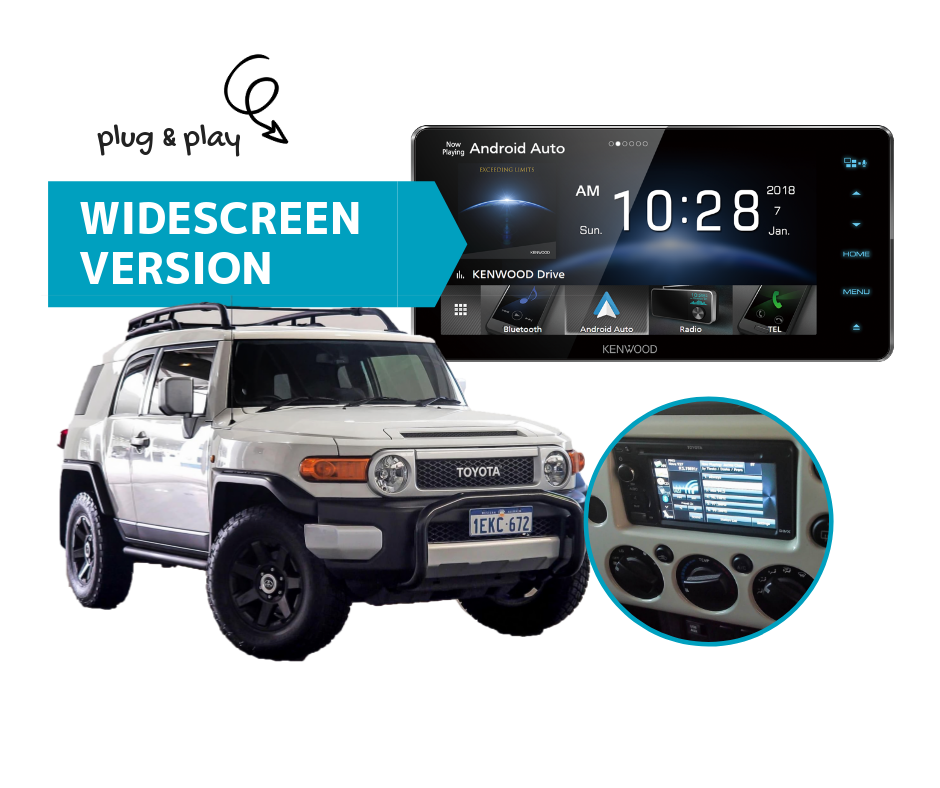 Kenwood DDX918WS for FJ Cruiser 2007 to 2015 | Stereo Upgrade