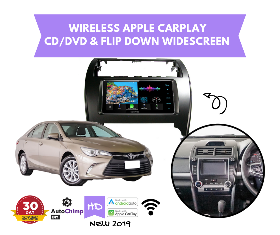 2017 toyota camry audio system
