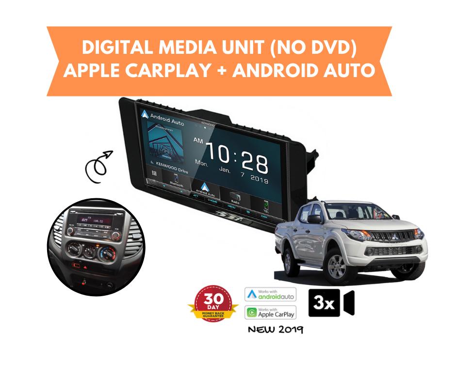 Kenwood DMX8019S for Mitsubishi Triton MQ Stereo Upgrade | 2015 to 2018