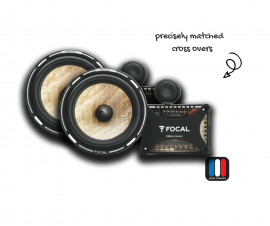 """Focal PS165FX 6.5"""" Flax 2-Way Component Speaker Kit   Performance Series"""