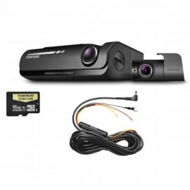 Thinkware F770 Dash Camera Kit | 2 Channel Front Rear 16gb SD Card & Hardwire Kit