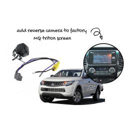 Reverse Camera Kit for Mitsubishi Triton Factory Screen