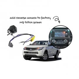 Reverse Camera Kit for Mitsubishi Triton Factory Screen
