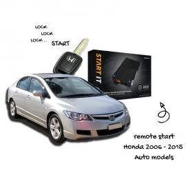 Honda Remote Start AC-RS-HA2 | 2006 - 2015 Auto Models | OEM Remote