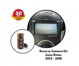Reverse Camera Kit for Isuzu Dmax Factory Screen 2012 - 2018 | All Screen Models