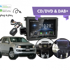 Kenwood DDX9018DABS for VW Amarok 2011 to 2015 | Stereo Upgrade