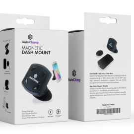 AutoChimp Magnetic Phone Holder | Dash Mount