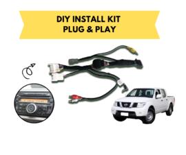 AutoChimp AC-D40-HRN Kenwood Stereo Install Kit for Nissan Navara  
