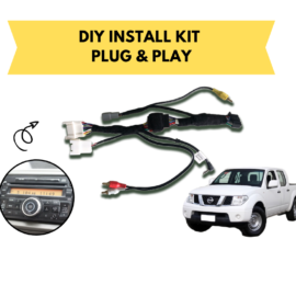 AutoChimp AC-D40-HRN Kenwood Stereo Install Kit for Nissan Navara |