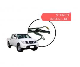 AutoChimp AC-D40-HRN Kenwood Stereo Install Kit for Nissan Navara D40