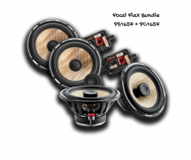 Focal Flax FX Speaker Bundle PS165F & PC165F | Component & Coaxial Kit