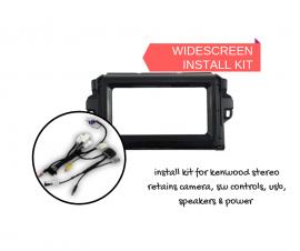 AutoChimp AC-FORTUNER-KIT Stereo Install Kit for Toyota Fortuner