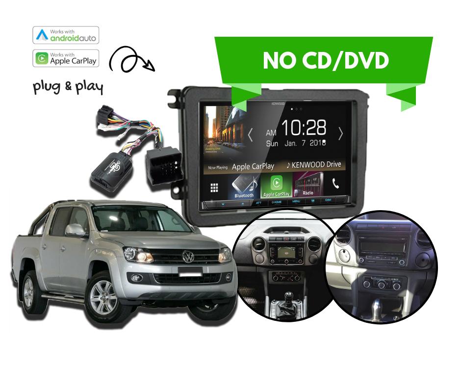 Kenwood DMX8018S for VW Amarok 2011 to 2015 | Stereo Upgrade